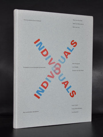 Visser, Spek ao # INDIVIDUALS , Nine sculptors from Holland 3 1992, mint-