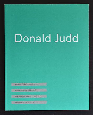 Abbemuseum # DONALD JUDD # 1987, mint
