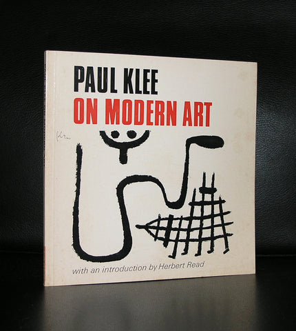 Paul Klee # ON MODERN ART # 1974, nm-