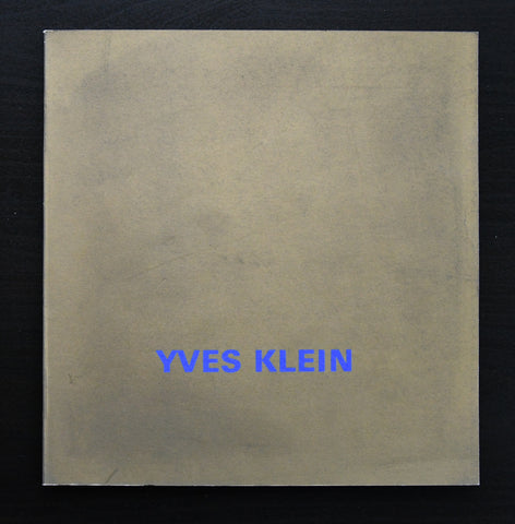 Centre National d'art Contemporain, Paris # YVES KLEIN # 1968, mint-