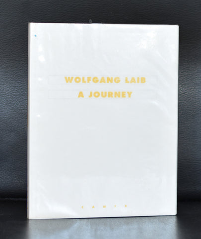 Wolfgang Laib # A JOURNEY # 1996, mint