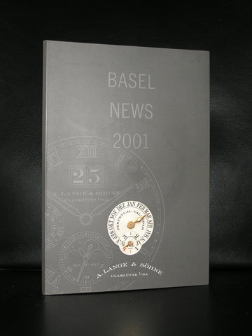 Basel # LANGE & SOHNE # /Glashutte # 2001, press publication, nm++