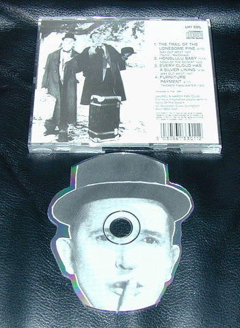 fanclub cd's # LAUREL & HARDY # ao. Trail of lonesome pine, mint-