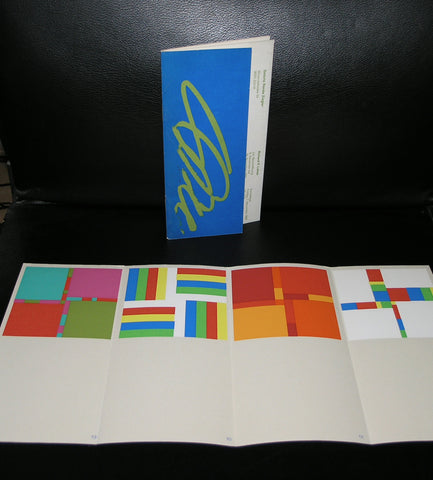 Ziegler# Richard P. LOHSE #1969, + orig silkscreens,nm