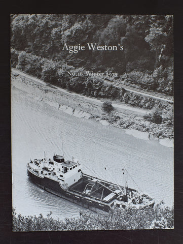 Aggie Weston no. 16 , Coracle # RICHARD LONG # 1979, mint