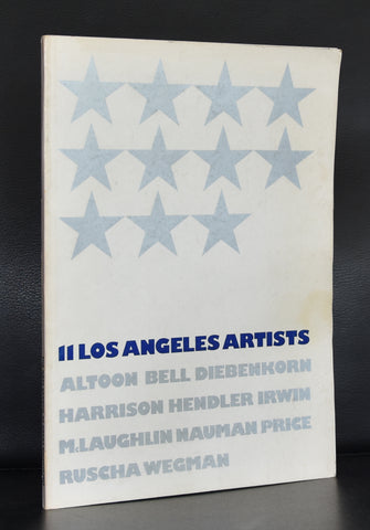 Hayward gallery # 11 LOS ANGELES ARTISTS # Ruscha, Nauman ao, 1971, nm