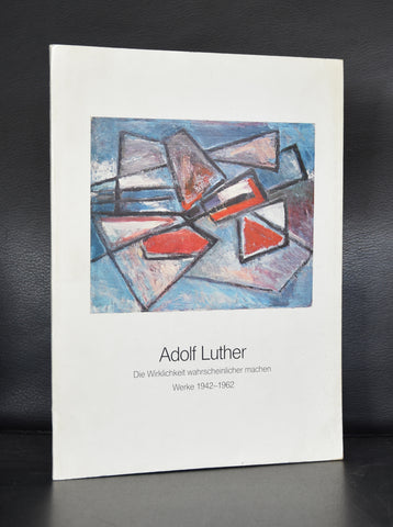 Kunsthalle Grabbeplatz # ADOLF LUTHER # 1981