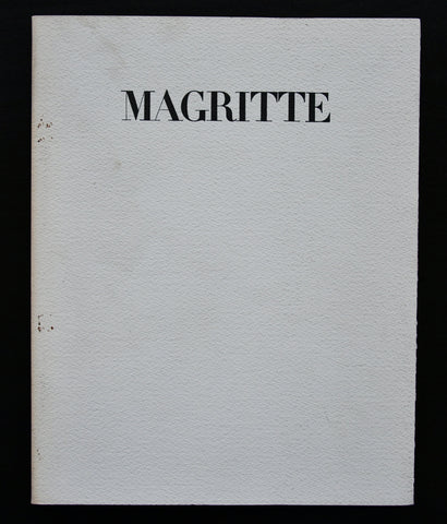 galerie Alexandre Jolas # MAGRITTE # 1967, incl invitation with Magritte print, nm++