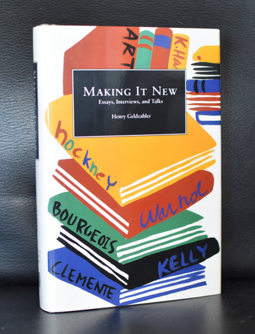 Henry Geldzahler # MAKING IT NEW # ao Hockney, Bourgeois, 1994, mint