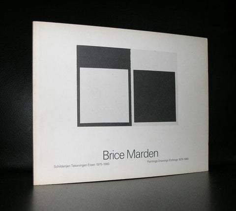 Stedelijk Museum #BRICE MARDEN#1981, NM, 1700 copies