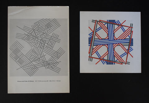 Waddington galleries # KENNETH MARTIN, set of 2 invitations# 1978/1981, nm+