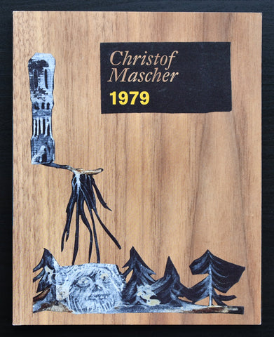 galerie der Stadt Remscheid # CHRISTOF MASCHER 1979 + invitation # 2008, mint-