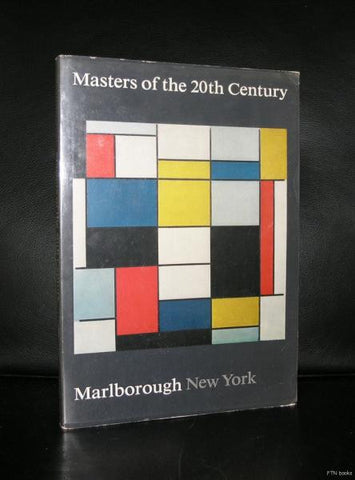 Marlborough New York # MASTERS of the 20th CENTURY # 1971, vg++
