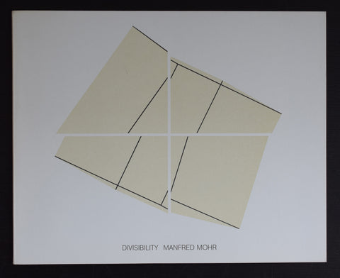 galerie Gheerbrant # MANFRED MOHR , Divisibility # 1981, mint