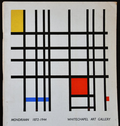 Whitechapel Art Gallery # MONDRIAAN 1872-1944 # 1955, nm