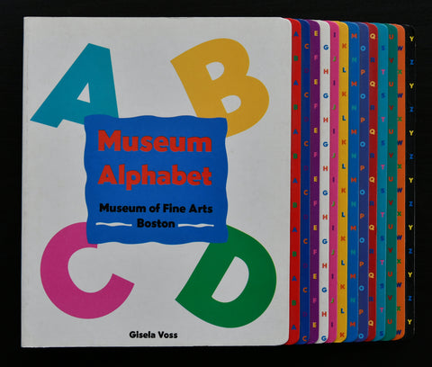Museum of Fine Arts Boston , Gisela Vss # MUSEUM ALPHABET # 1995, mint-