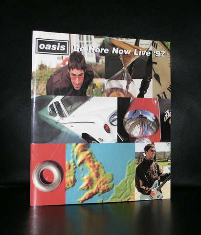 Oasis # BE HERE NOW LIVE '97# program, nm
