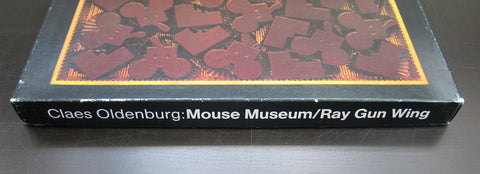 "Claes Oldenburg, Multiple# MOUSE MUSEUM /RAY GUN WING#in ""chocolate box"",1979,nm"