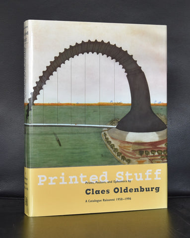 Claes Oldenburg # PRINTED STUFF, catalogue Raisonne 1958-1996# 1997, mint