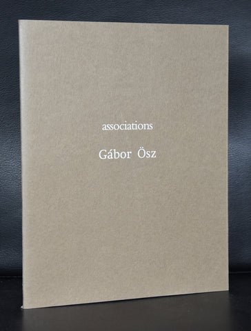 Gabor Osz # ASSOCIATIONS # signed, 1995, only 400 copies, mint
