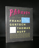 Gertsch, Thomas Ruff, Larner # PARKETT 28 # 1991, nm