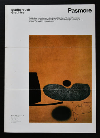 Marlborough Graphics # VICTOR PASMORE , invitation # 1973, nm
