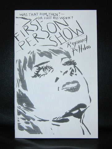 Raymond Pettibon#FIRST PERSON SHOW # ltd.ed. 9/100,Mint