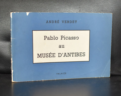 Musee d'Antibes # PABLO PICASSO AU MUSEE D'ANTIBES # vg, 1951