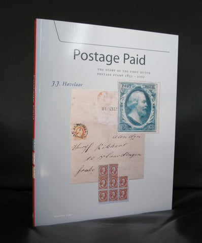 J. Havelaar # POSTAGE PAID, First dutch stamp#2002, Mint