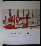 Galerie der Stadt Backnang # NEO RAUCH  + invitation #1998, nm++