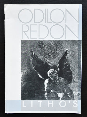 Diens Rijkscollecties , design Swip Stolk # ODILON REDON, Litho's # 1982, nm