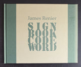James Renier # SIGN BOOK CODE WORD # Museum Bommel van Dam, 2004, mint