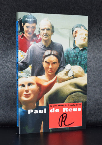 New Dutch sculptors # PAUL DE REUS # mint, signed , 1997