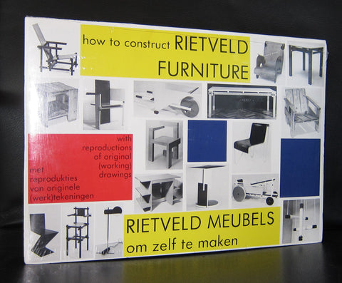 Thoth # how to construct RIETVELD FURNITURE # ca. 1990, mint /sealed copy