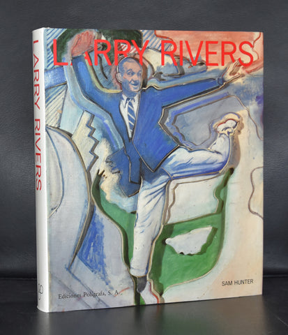 Sam Hunter # LARRY RIVERS # Poligrafa, 1990, mint-
