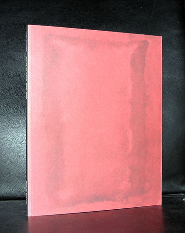 Mark Rothko , Beyeler #WORKS ON PAPER 1930-1969# near mint++