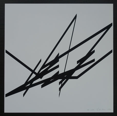 Albert Rubens # CONSTRUCTIVIST COMPOSITION # 1990, signed/numb, mint-