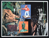 Waddington galleries # DAVID SALLE # invitation card, 1989, mint-