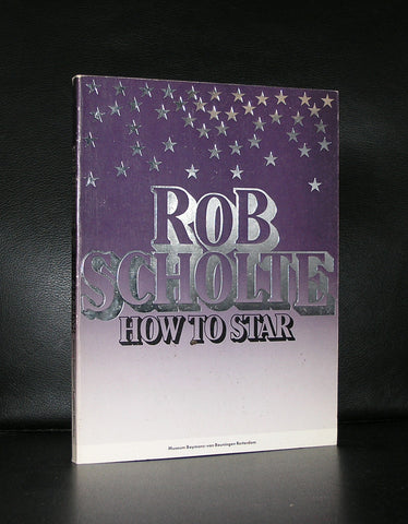 Rob Scholte # HOW TO STAR #nm, 1988, 1500 cps.
