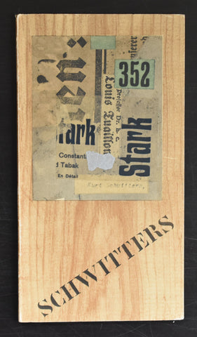Berggruen Paris # KURT SCHWITTERS # 1954, nm++