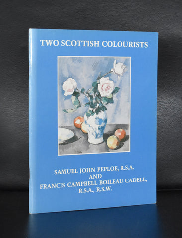 Lefevre gallery, Peploe, Cadell # TWO SCOTTISH COLOURISTS # 1988, mint-