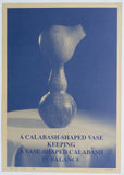 Yves de Smet # A CALABASH - SHAPED VASE # 1990, signed/numb, mint-