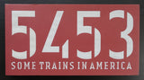 5453 # SOME TRAINS IN AMERICA # 2002, mint