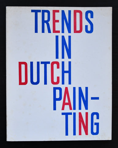 Schuurman # TRENDS IN DUTCH PAINTING # dutch typography,ca. 1955, nm+