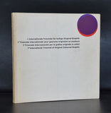 Kunstverein Grenchen #1. Internationale TRIENNALE FUR FARBIGE ORIGINAL-GRAPHIK # 1958, nm
