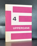 William Turnbull, Whitefriars Press # UPPERCASE 4 # 1960