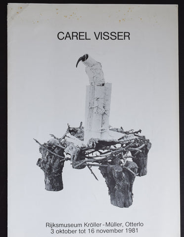 Kroller Muller , Otterlo # CAREL VISSER # 1981, nm-