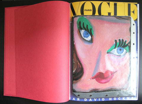 Vogue #DECEMBRE 1986,1987,1988 # Hockney, Hendricks, Kurosawa