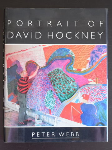 Peter Webb # portrait of DAVID HOCKNEY # 1988, mint