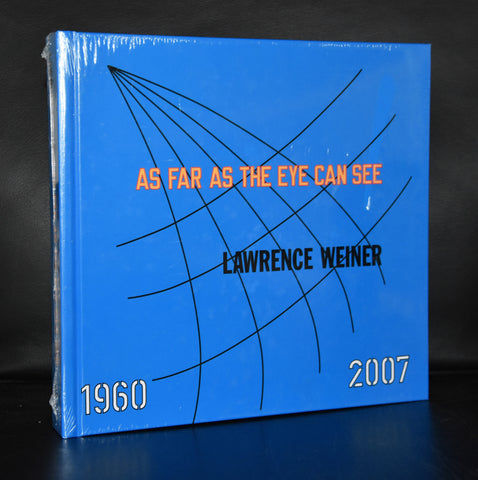 Lawrence Weiner # AS FAR AS THE EYE CAN SEE 1960-2007# 2007, mint
